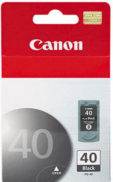 Canon PG-40 black Originál Originální černá cartridge PG40