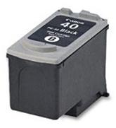 Canon PG-40 black - renovace Renovace Vaší prázdné cartridge PG40