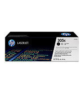 HP CE410X (HP 305X) black Originál Originální cartridge HP CE 410X (HP-305X) - černá
