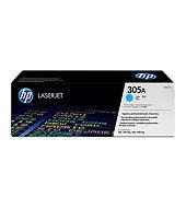 HP CE411A (HP 305A) cyan Originál Originální cartridge HP CE 411A (HP-305A) - azurová