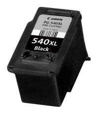 Canon PG-540xl black - renovace Repasování Vaší prázdné cartridge Canon PG540xl