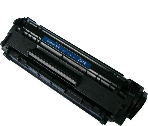 HP Q2612A (HP 12A) black - compatible Kompatibilní cartridge HP Q2612A (12A) - černá