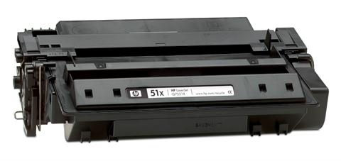 HP Q7551X (HP 51X) black compatible Kompatibilní cartridge HPQ7551 X (HP 51X) - černá