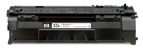 HP Q7553A (HP 53A) black compatible Kompatibilní cartridge HP Q7553A (HP53A) - černá