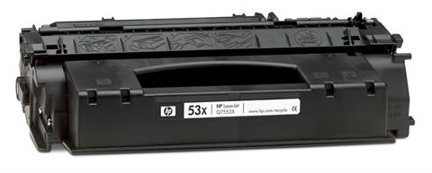HP Q7553X (HP 53X) black compatible Kompatibilní cartridge HP Q7553X (HP53X) - černá