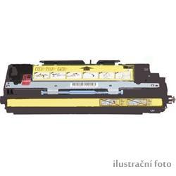 HP Q7582A yellow compatible Kompatibilní cartridge HP Q7582A - žlutá