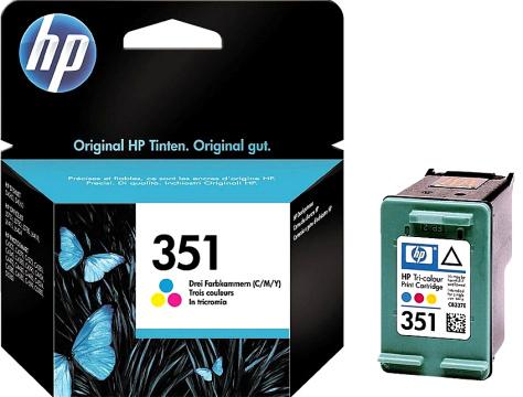HP 351 (CB337EE) color Originál Originální barevná náplň HP351