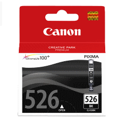 Canon CLI-526Bk black originál Originální cartridge CLI526 Bk - černá