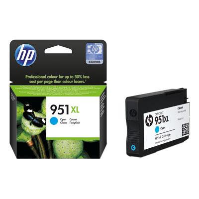 HP 951xl (CN046AE) cyan Originál Originální cartridge HP951xl (CN046AE) - azurová