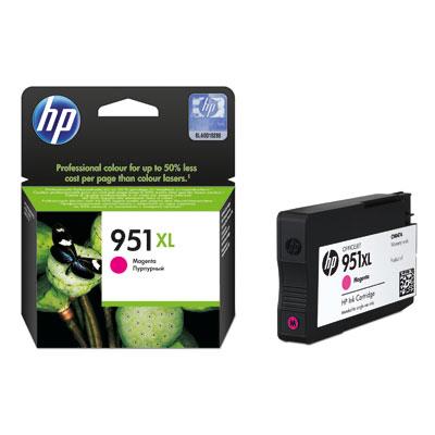 HP 951xl (CN047AE) magenta Originál Originální cartridge HP951xl (CN047AE) - purpurová