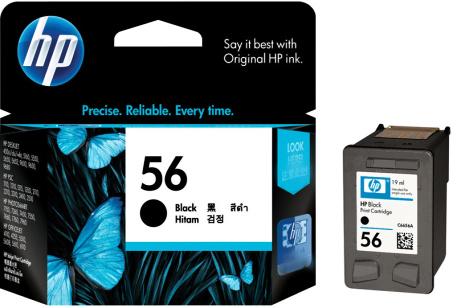 HP 56 (C6656AE) black Originál Originální cartridge HP56 (C6656A)