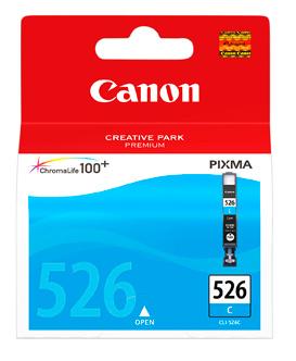 Canon CLI-526C cyan originál Originální cartridge CLI526 C - azurová