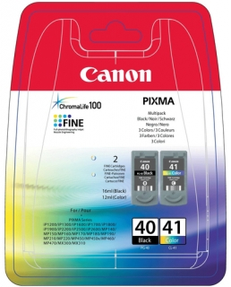 Canon PG-40 + CL-41 multipack Originál (black + color)