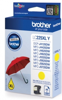Brother LC-225XLY - yellow original