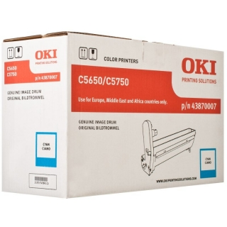 OKI 43870007 Drum - cyan original
