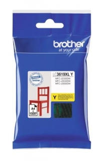 Brother LC-3619XLY - yellow original