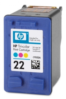 HP 22 (C9352AE) color - renovace