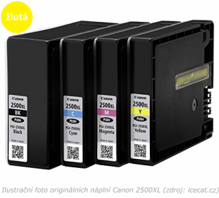 Canon PGI-2500XL Y yellow compatible